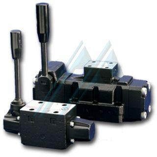 ATOS DH, DK and DP manual and mechanical directional valves
