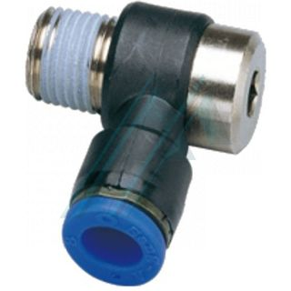 Push-in fitting POL conical thread