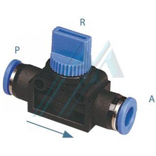 HVFF 3 way shut off valve