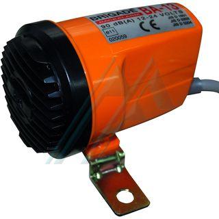Alarm reverse 95 dB (a) At 1 m 12-24 V. model BA-13