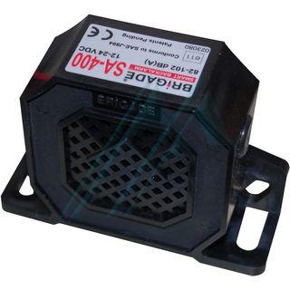 Alarma marcha atrás 82-102 dB 12-24 V. modelo (SA-400)