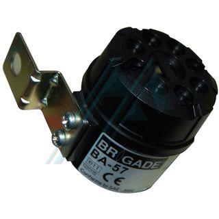 Alarm reverse gear 90 dB (a) At 1 m 12-24 V. model BA-57