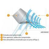 KXK air barrier (INOX)