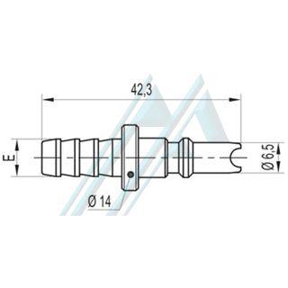 Plug fast ACD 12 coupling