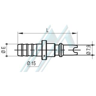Quick coupler ACD-25 coupling