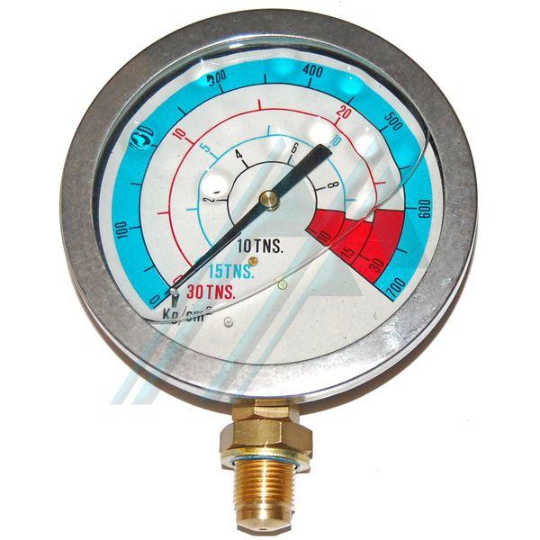 Man metro glicerina 16 23 toneladas for Manometro para medir presion de agua