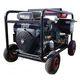 Hidrolimpiadora autónoma de gasolina CON arranque eléctrico y batería