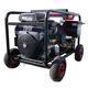 Gasoline autonomous pressure washers WITH elecrtical starter and battery