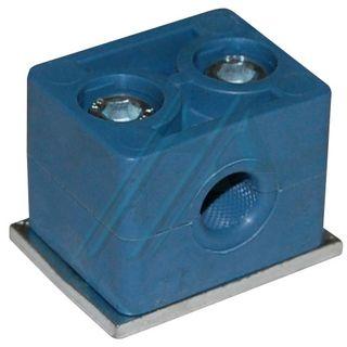 Plastic bracket ø 12 for hydraulic tube