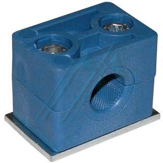 Plastic bracket ø 14 ø for tube hydraulic