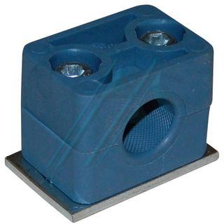Plastic bracket ø 16 for tube hydraulic