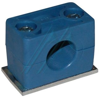 Plastic bracket ø 18 for hydraulic tube