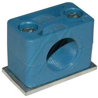 Plastic bracket ø 22 for hydraulic tube