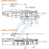 SUN CACL Series hydraulic valve
