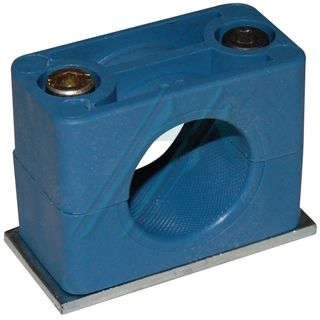 Plastic bracket ø 28 for hydraulic tube