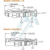 SUN CBBD series hydraulic counterbalance valve