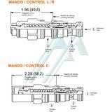 SUN CBBA series hydraulic counterbalance valve