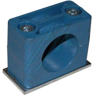 Plastic bracket ø 30 for hydraulic tube