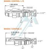 SUN CBBG series hydraulic counterbalance valve