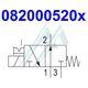BOSCH pneumatic valve 0820005202