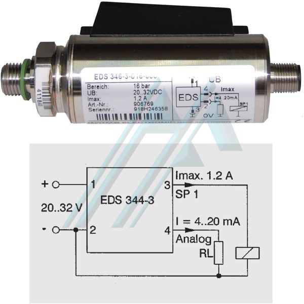 hydac eds series pressure switch hidraflex rh hidraflex com hydac eds 300 operation manual HYDAC Oil Filter