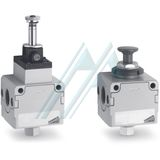 Lockable isolation 3/2 way valve CMC