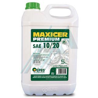Aceite Maxicer Premiun SAE 10/20 5 Litros