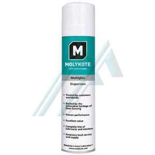 Aflojatodo Molykote MULTIGLISS dispersion spray 400 ml