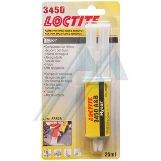 Loctite 3450 adhesivo Epoxi 5 minutos acero 25 ml