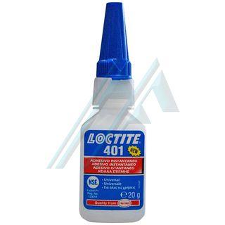 Loctite 401 adhesivo instantáneo cianonacrilato 20 gr