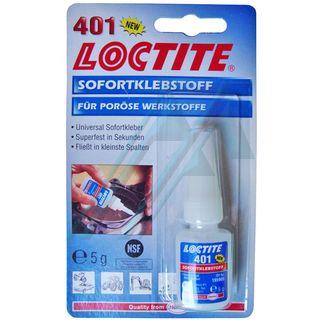Loctite 401 adhesivo instantáneo cianonacrilato 5 gr
