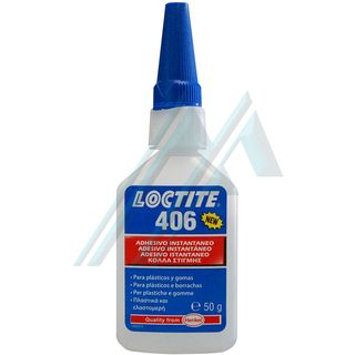 Loctite 406 adhesive instant cianonacrilato 50 gr