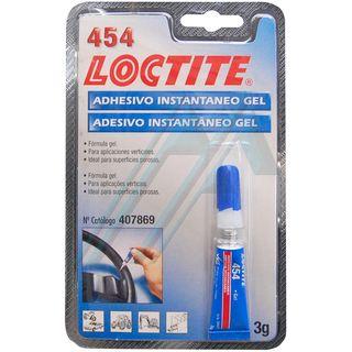Loctite 454 adhesivo instantáneo gel 3 gr