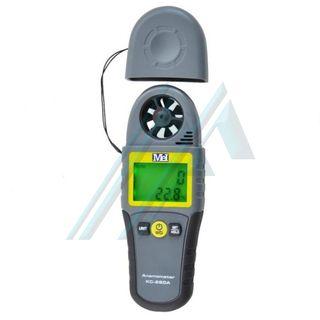 Anemômetro com temperatura KC-280A
