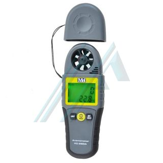 Anemómetro con temperatura KC-280A
