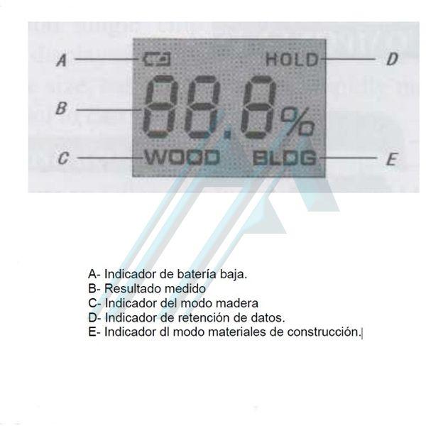 appareil de mesure d 39 humidit sur les murs et le bois kc 301b 1 hidraflex. Black Bedroom Furniture Sets. Home Design Ideas