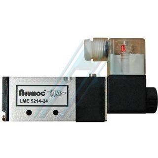 """Electroválvula Neumoc 5/2-1/4"""" 24 V CC"""