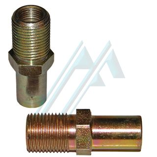 Fitting brake male 5/8 18H female 7/16 24H adapter