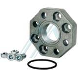 Complete kit aluminum flange H1