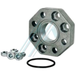 "Kit complete flange union long M1"" PA + fibreglass"