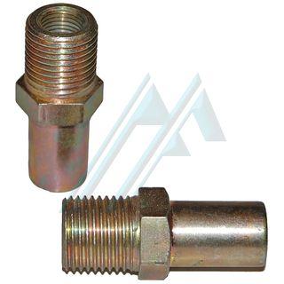 Fitting brake male M. 16X1.5 female, M 10X1 adapter