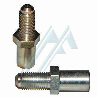 Fitting brake male 7/16 20H L-23 adapter