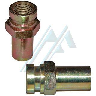 Racor freno hembra 1/2 20H L-12-8.5 adaptador