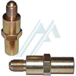 Fitting brake male cone SAE M10X1 L-15 C-15 adapter