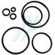 O-ring NBR espessura / Touro 1 mm