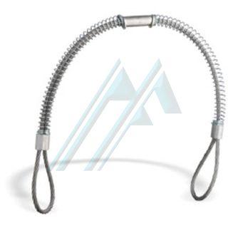 """Cable de seguridad universal antilatigazo 700 mm Ø 5 1/2""""-2"""""""
