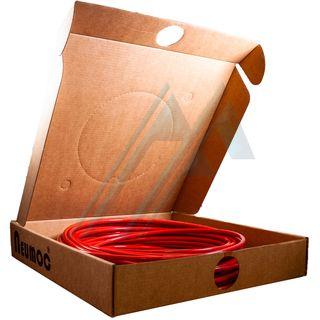 Pack tube of red polyurethane