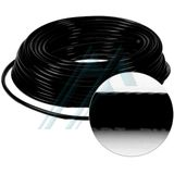 Pack a tube of black polyurethane