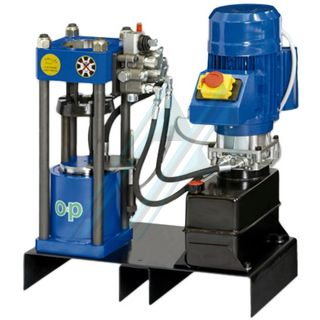 PACK STAN prensa TUBOMATIC 040 EL O+P (max Ø 58 mm) con racores y manguera