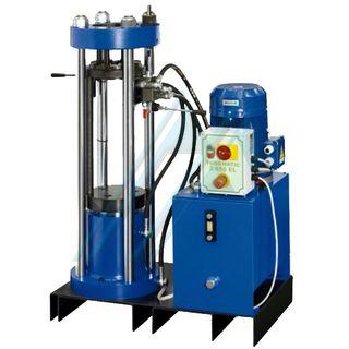 PACK CARTMAN prensa TUB265S E O+P (max Ø 82 mm) con racores y manguera